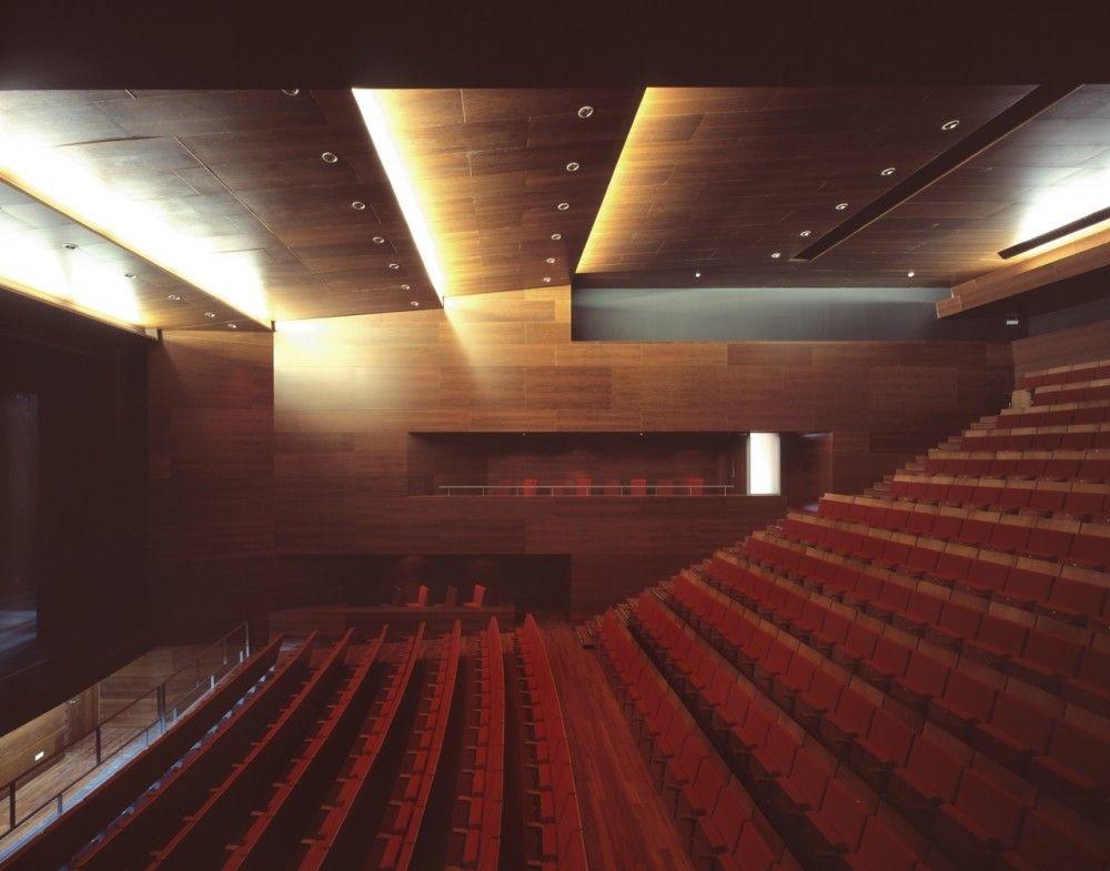 Gallery Of Vicar Theatre Gabriel Verd Arquitectos 7 Theatre Architecture Architect Concert Hall