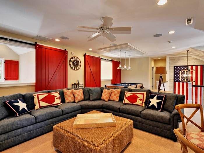 Americana Home Decor For Living Room