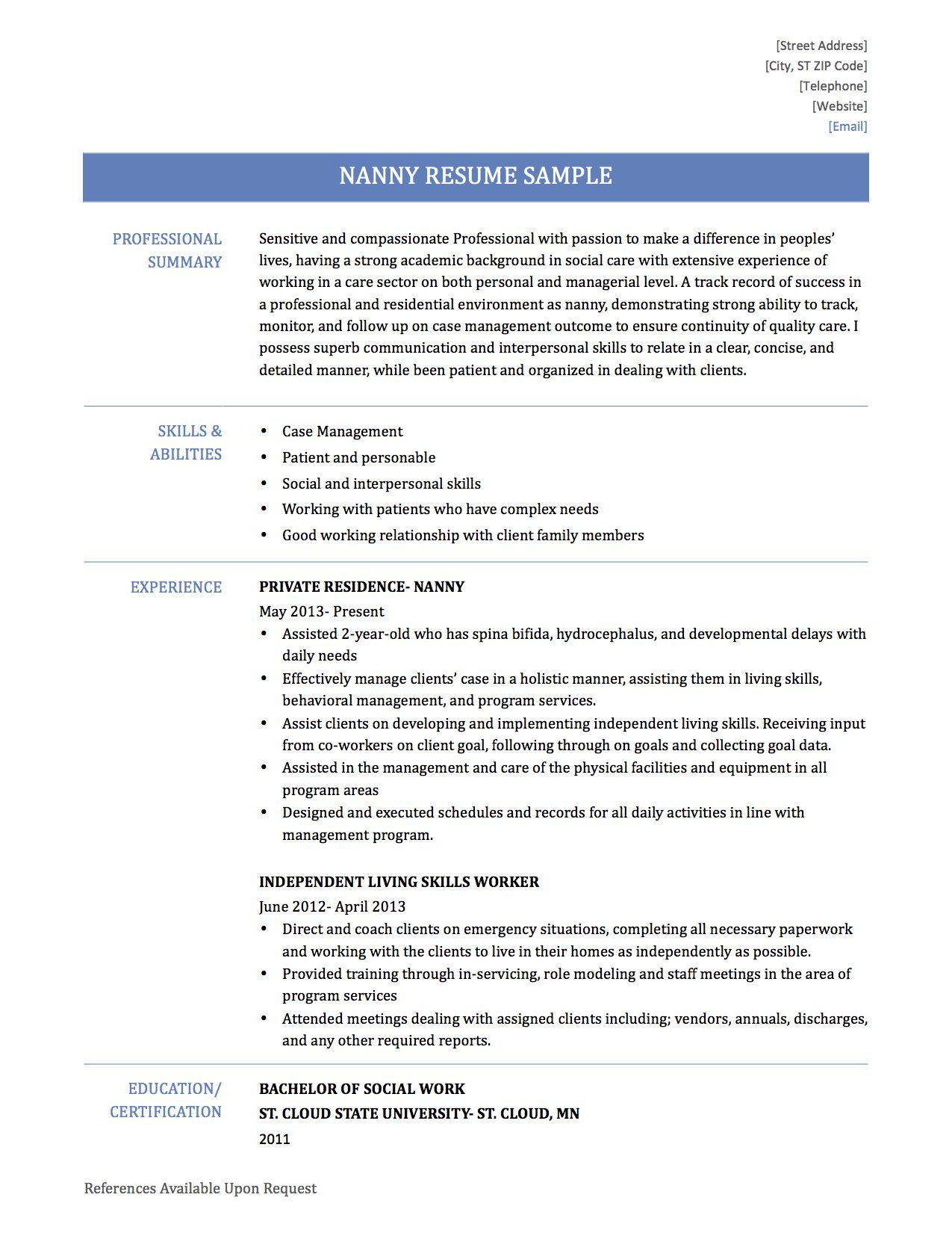 For Music Education Nafme Resume Genius Cover Letter