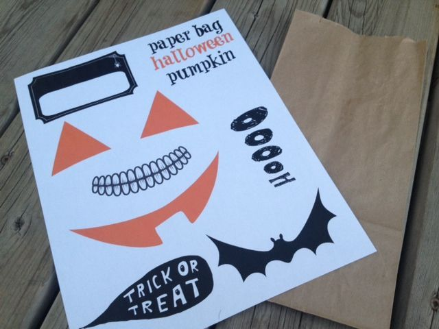 paper bag halloween pumpkin paper halloweenpreschool halloweenhalloween craftshalloween - Halloween Preschool Ideas