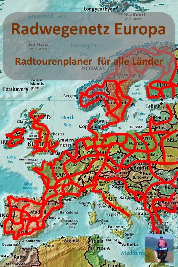 Radwegenetz Europa Radroutenplaner Fur Alle Lander
