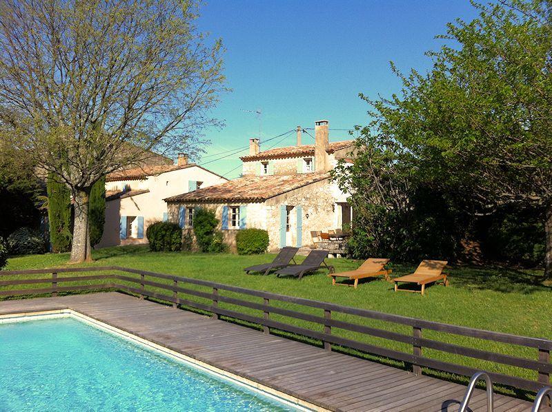 Maison de charme avec piscine chauffée pour 10 personnes dans le - location saisonniere avec piscine privee