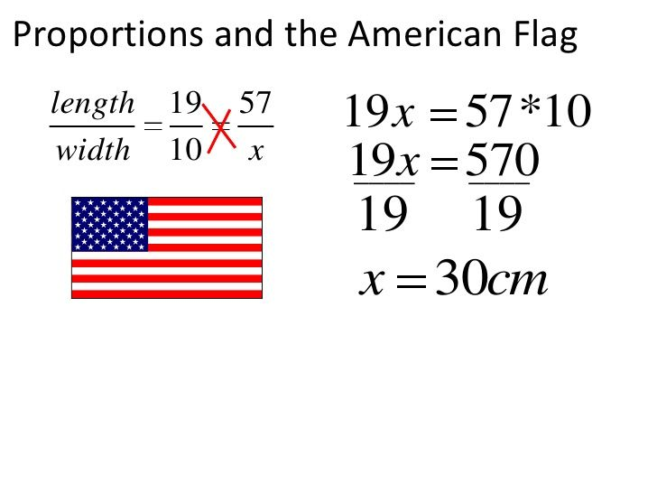 Proportions And The American Flag Br American Flag School Pictures American