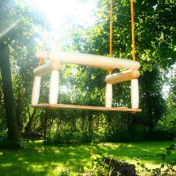 kids wood swing swing for children swing for toddlers safe eat and adjustable length ropes. Black Bedroom Furniture Sets. Home Design Ideas