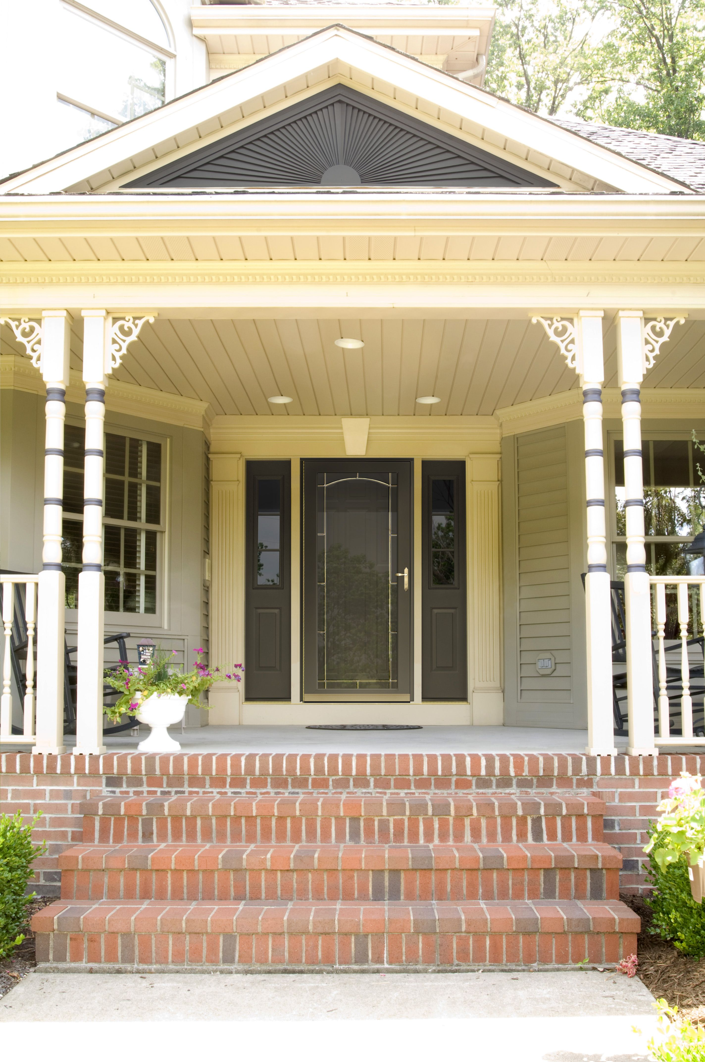 Beautiful Provia Storm Door Call Thomas V Giel Garage Doors For A