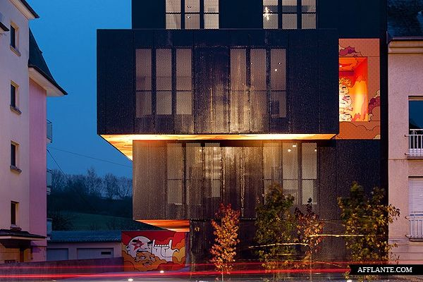 L Cessange Aparrtment Building in Luxembourg // Metaform