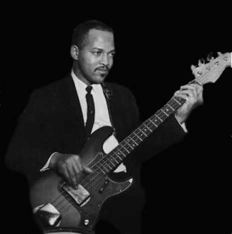 james jamerson people guitar photography the funk brothers soul music. Black Bedroom Furniture Sets. Home Design Ideas