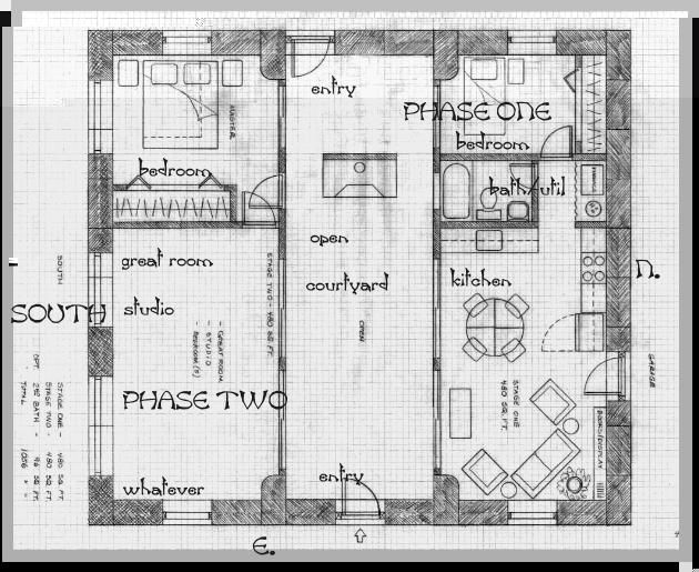 Strawbale Construction Http Www Balewatch Com 480courtyard Jpg Dog Trot House Plans Dog Trot House Straw Bale House