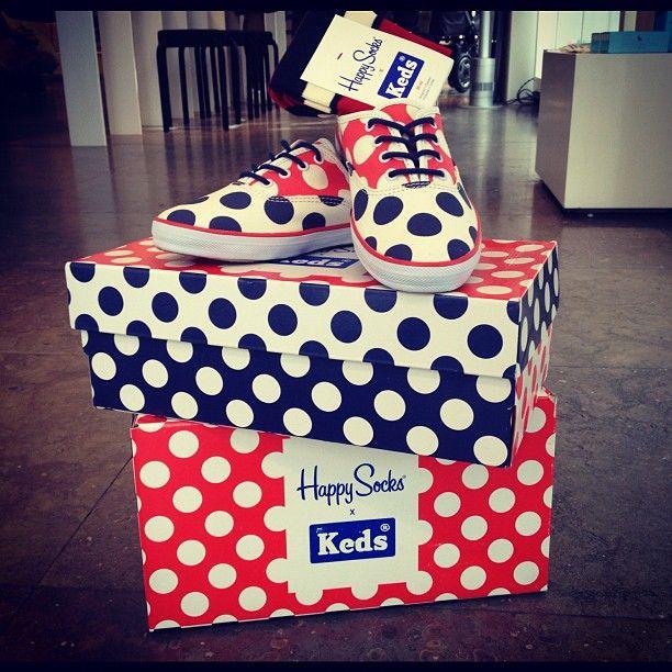 Polka Dots! YEAH! KEDS x HAPPY SOCKS.
