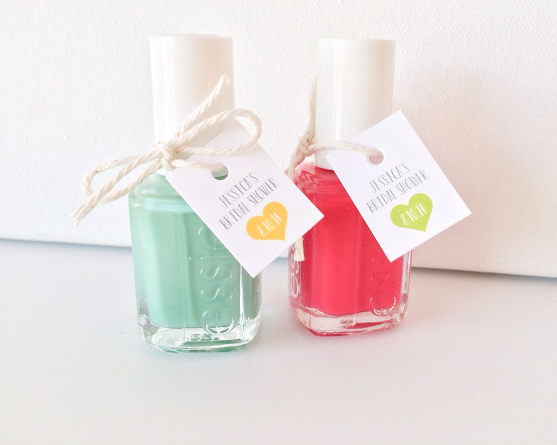 Easy (+ Cute!) Nail Polish Bridal Shower Favors | Bridal showers ...