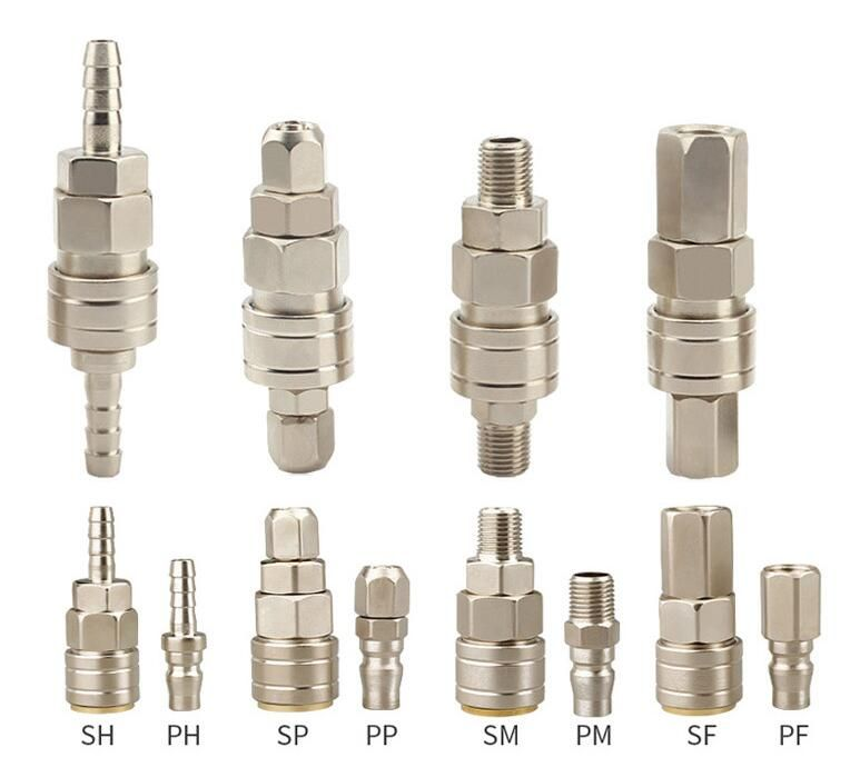 Performance Characteristics Of Quick Screw Fittings In 2020 Fittings Stainless Brass
