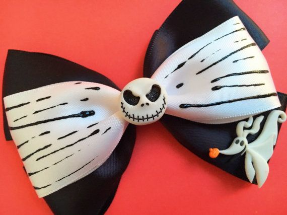 Hey, I found this really awesome Etsy listing at https://www.etsy.com/listing/462275740/jack-inspired-hair-bow