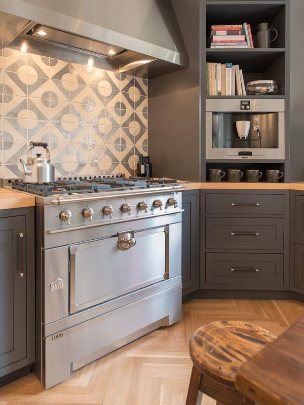 kitchen backsplash beauties rooms home garden television rh pinterest com HGTV Kitchen Design Beautiful Kitchen Backsplash