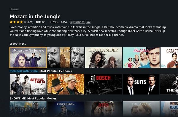 Amazon Prime Video app now available for Android TV