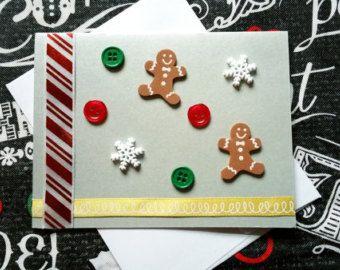 Handmade Snowman Luxury Christmas Greeting von DesignsByMistyBlue
