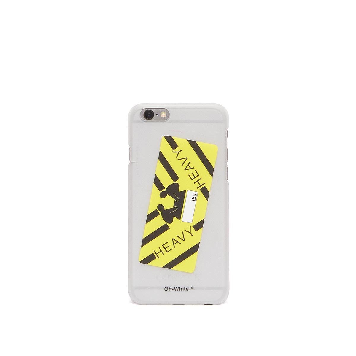 0ffe2e935d6c iPhone 6 Heavy sticker case from the S S2017 Off-White c o Virgil Abloh  collection