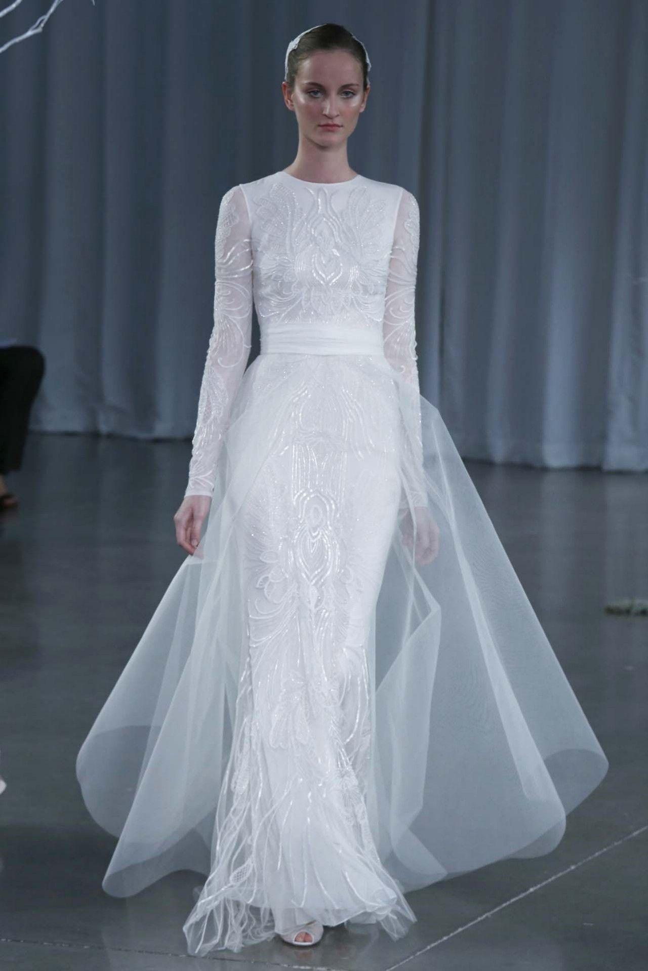 Monique-Lhuillier-2013-Gelinlik-Modelleri (3) | fashion | Pinterest ...