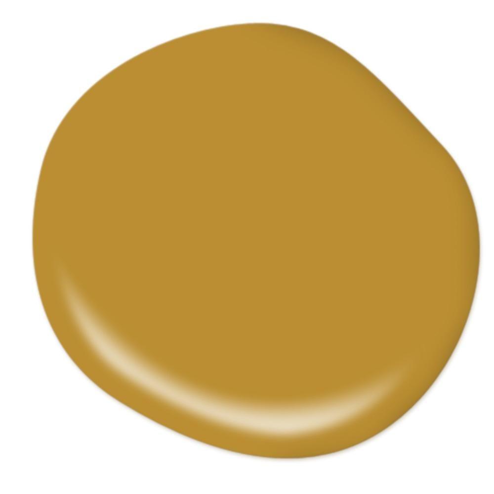 Behr Premium Plus 8 Oz 360d 7 Brown Mustard Flat Interior