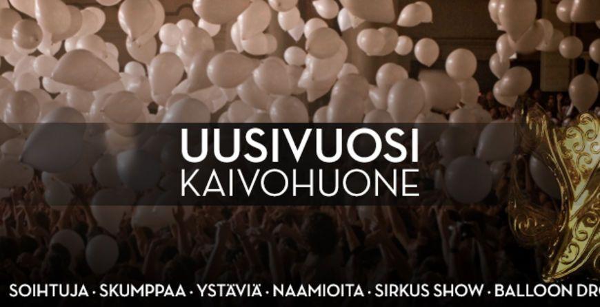 NYE - Uusivuosi Kaivolla - The Masquerade - Helsingin Kaivohuone, Helsinki - 31.12.2014 - Tiketti