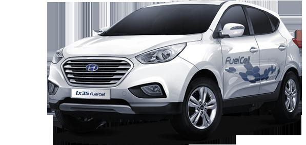 Hyundai ix35fcev Vervoer