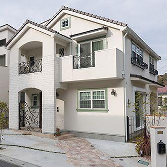 輸入住宅の施工例一覧No.4 | 神奈川県の輸入住宅なら鈴証建設