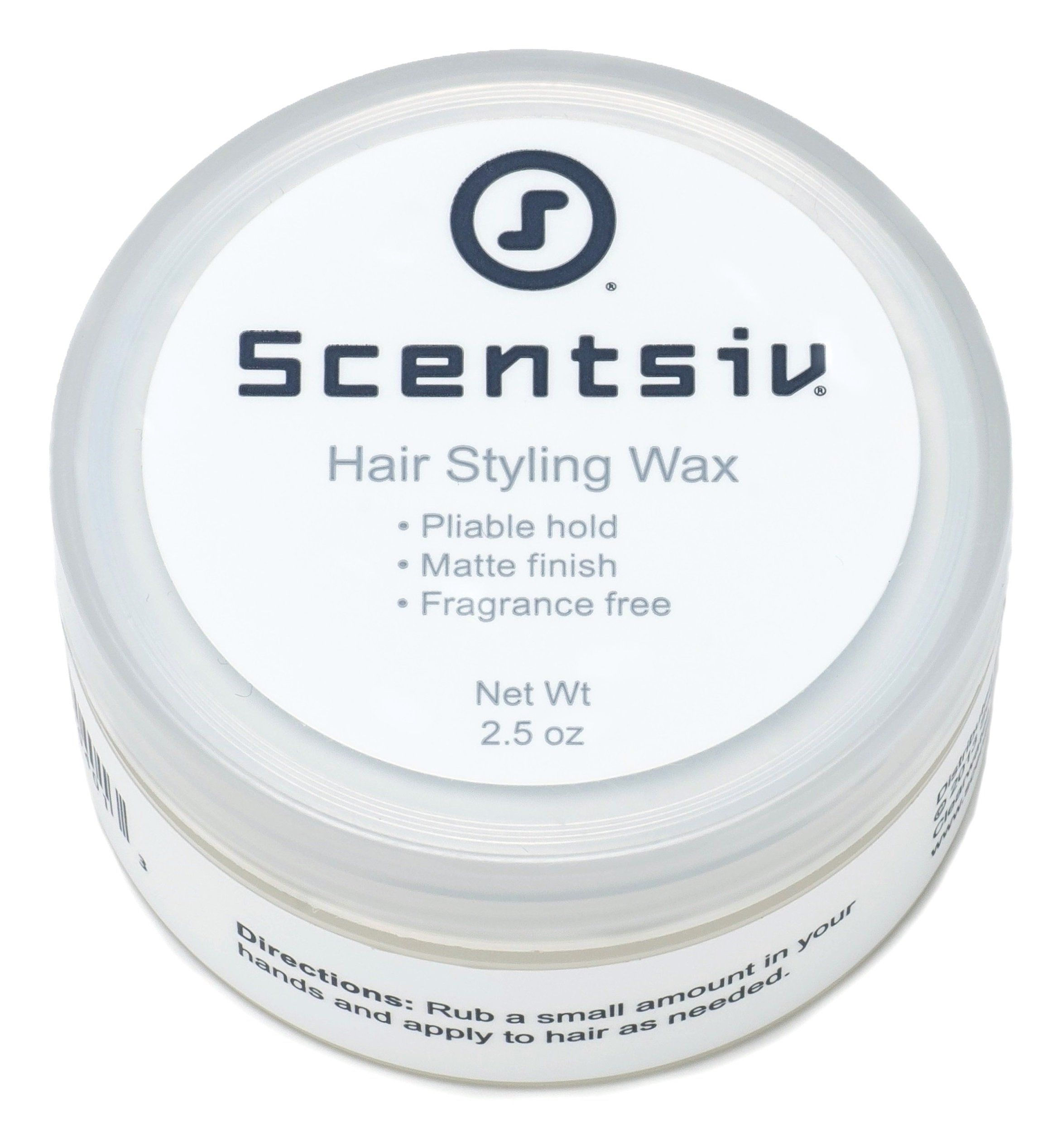 Amazon Com Scentsiv Unscented Fragrance Free Hair Styling Wax Beauty Fragrance Free Products Fragrance Free Hair Fragrance