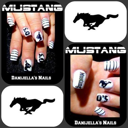Nailart Nails Nailartdesigns Mustang