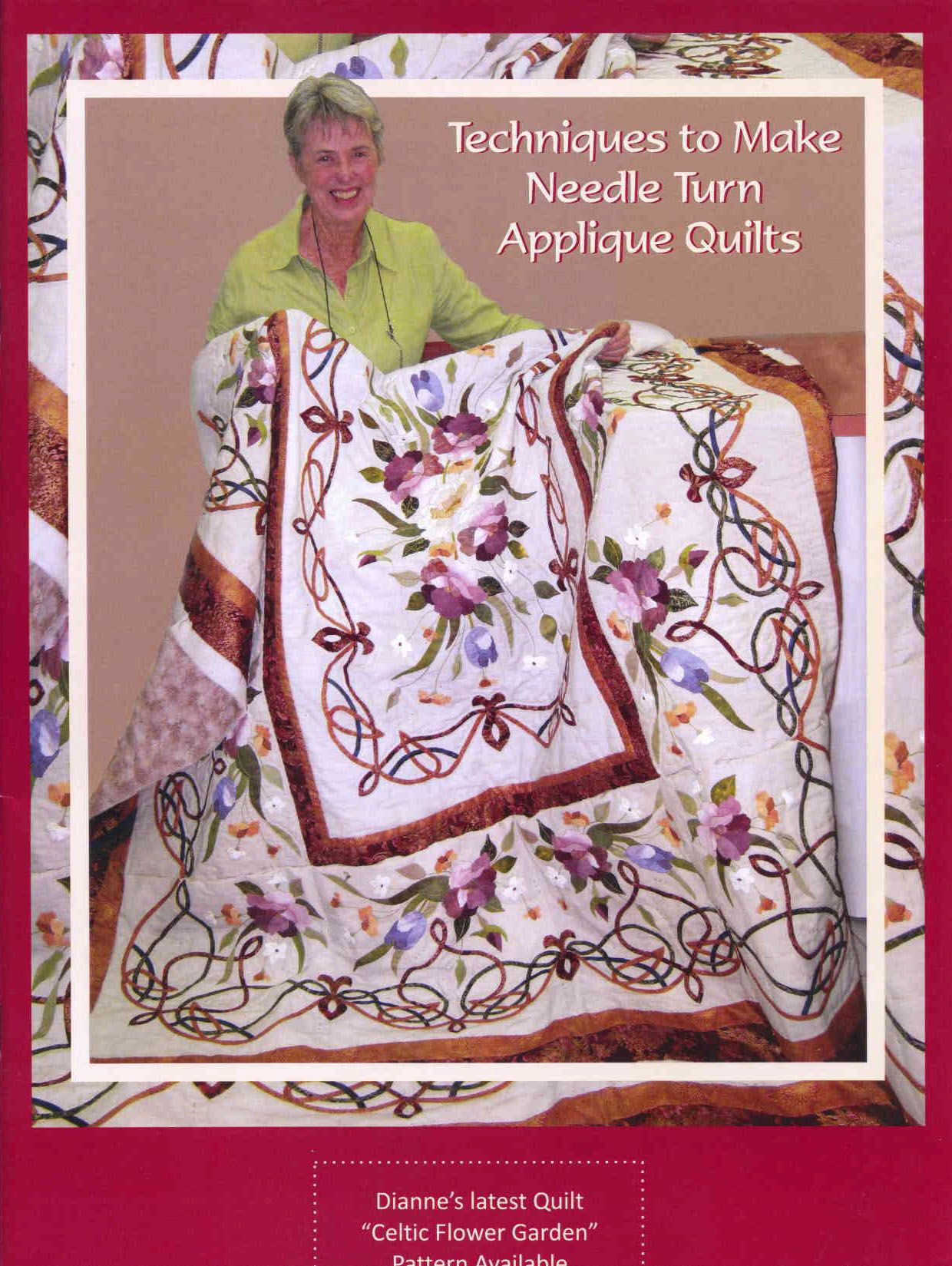 11++ Wedding ring quilt pattern with applique flowers information