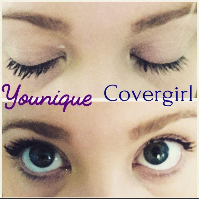 cff602da3c8 Covergirl Mascara vs. Younique 3D Fiber Lash Mascara! #younique #makeup  #covergirl #cosmetics #makeuptutorial #howto #mascara