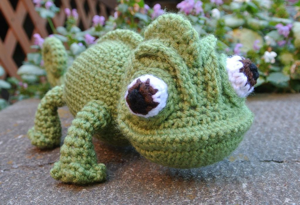 Chameleon Sidekick Chameleons Crochet And Patterns