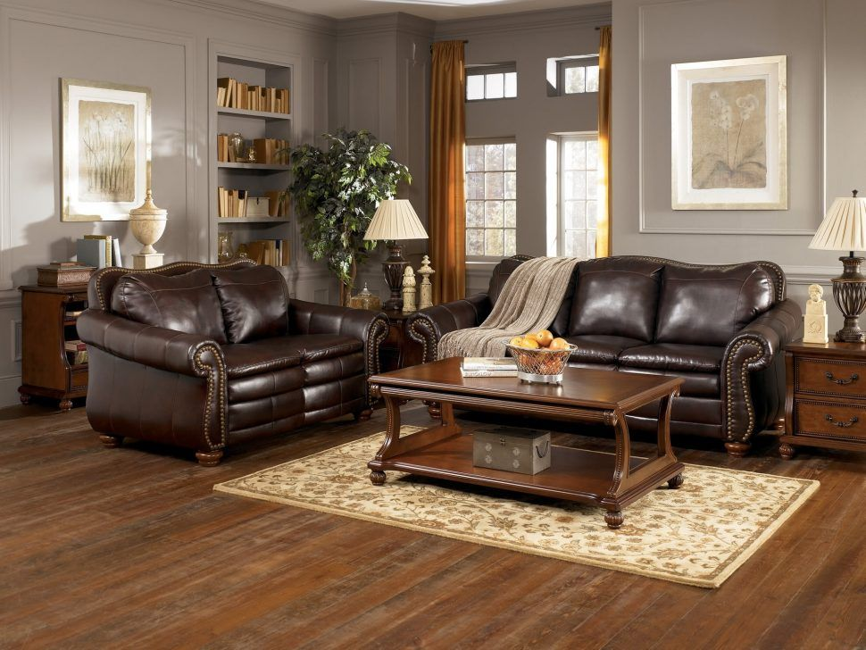 Livingroom Beautiful Brown Leather Sofa Decorating Ideas Furniture