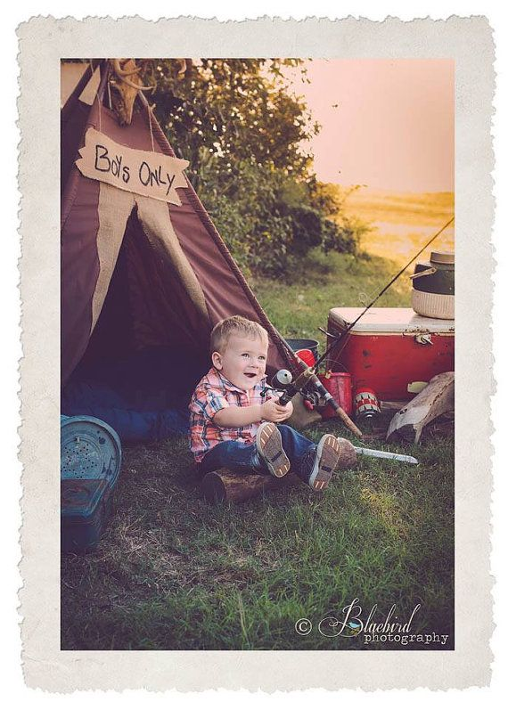 Teepee Play Tent Photo Prop JACK