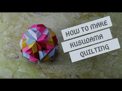 Photo of TUTORIAL: Easy Formation Of Kusudama Quilting (Origami Ball)