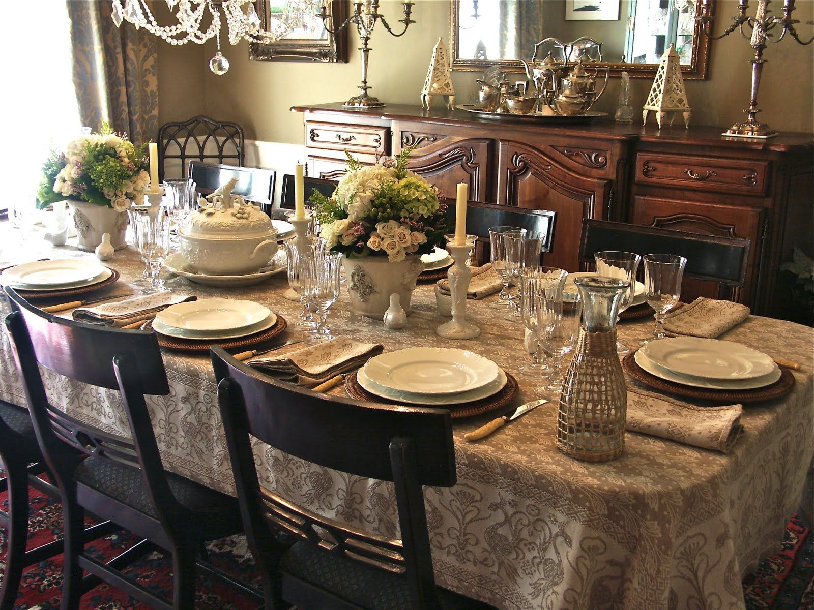 Tuscany Tablecloth Patterns Google Search Pretty Tables Table