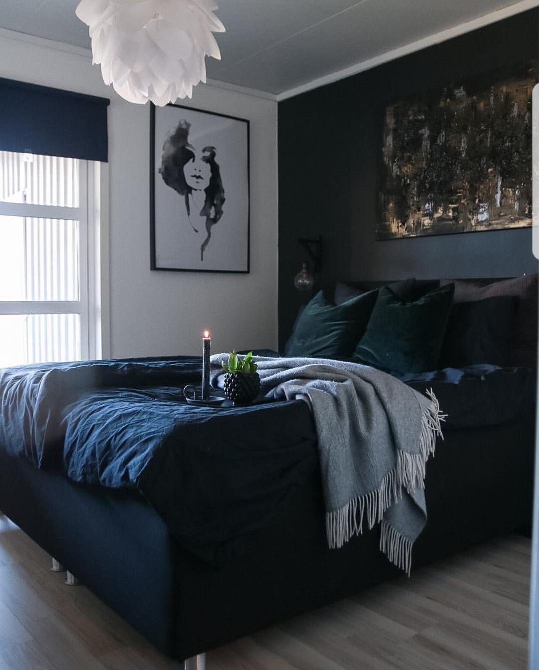 Pin By Celine Cevy Dahl On Dark Maskulin Lounge Bedroom Decor Home Decor Bedroom Bedroom Interior Modern bedroom maskulin design