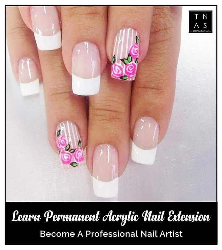 Permanent Acrylic Nail Extension are in trend these days for the right reasons! To give an natural look to your permanent  nail extensions Acrylic extension are the great way to amp up the nails.✨   Learn Permanent Acrylic Nail Extensions with right techniques at The Nail Art School.  #AcrylicNailExtension #NailArtCourses #NailArt #Nails #NailArtDesign #NailTechnicians #nailtrends #LearnNailArt #NailCourse #DIY #NailPro #NailTechnician #NailExtensions #Learn #Enrol #gelpolish #nailpolish #GLAM