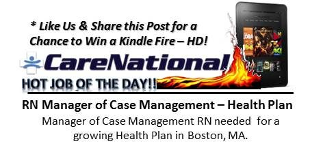 October 4th Hot Job Of The Day Case Management Maternal Health