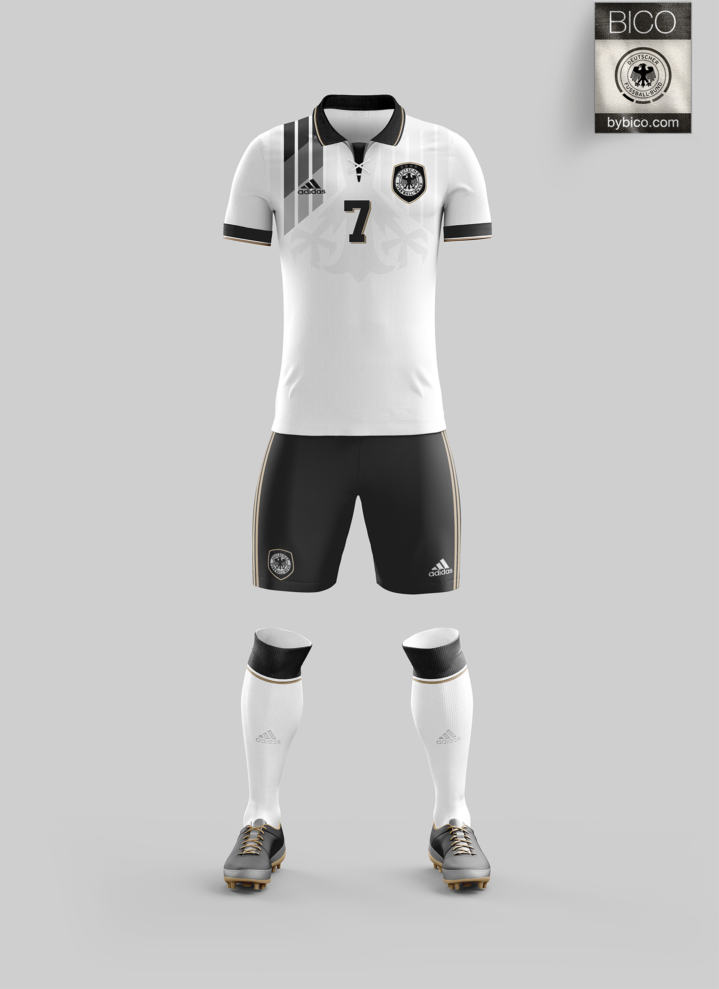 free shipping a40ac 4d520 Germany Kit - Die Mannschaft | Kit Concepts | Germany kit ...