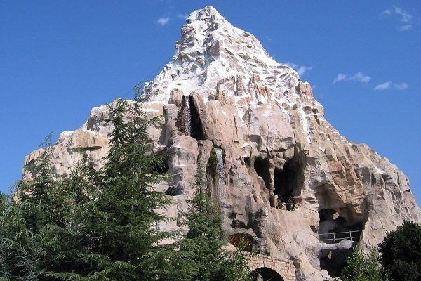 There Is A Whole Basketball Court In The Bottom Of The Matterhorn Disneyland Disneyland Secrets Scenic