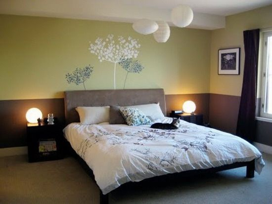 Bedroom For Couples Designs Extraordinary Green Brown Neutral Bedroom Ideas For Couples  Diy Furniture Design Inspiration