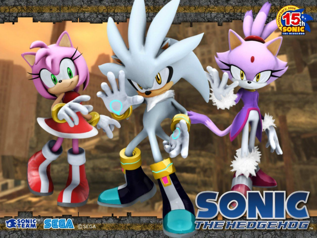 Video Game Sonic The Hedgehog 2006 Sonic Wallpaper Sonic