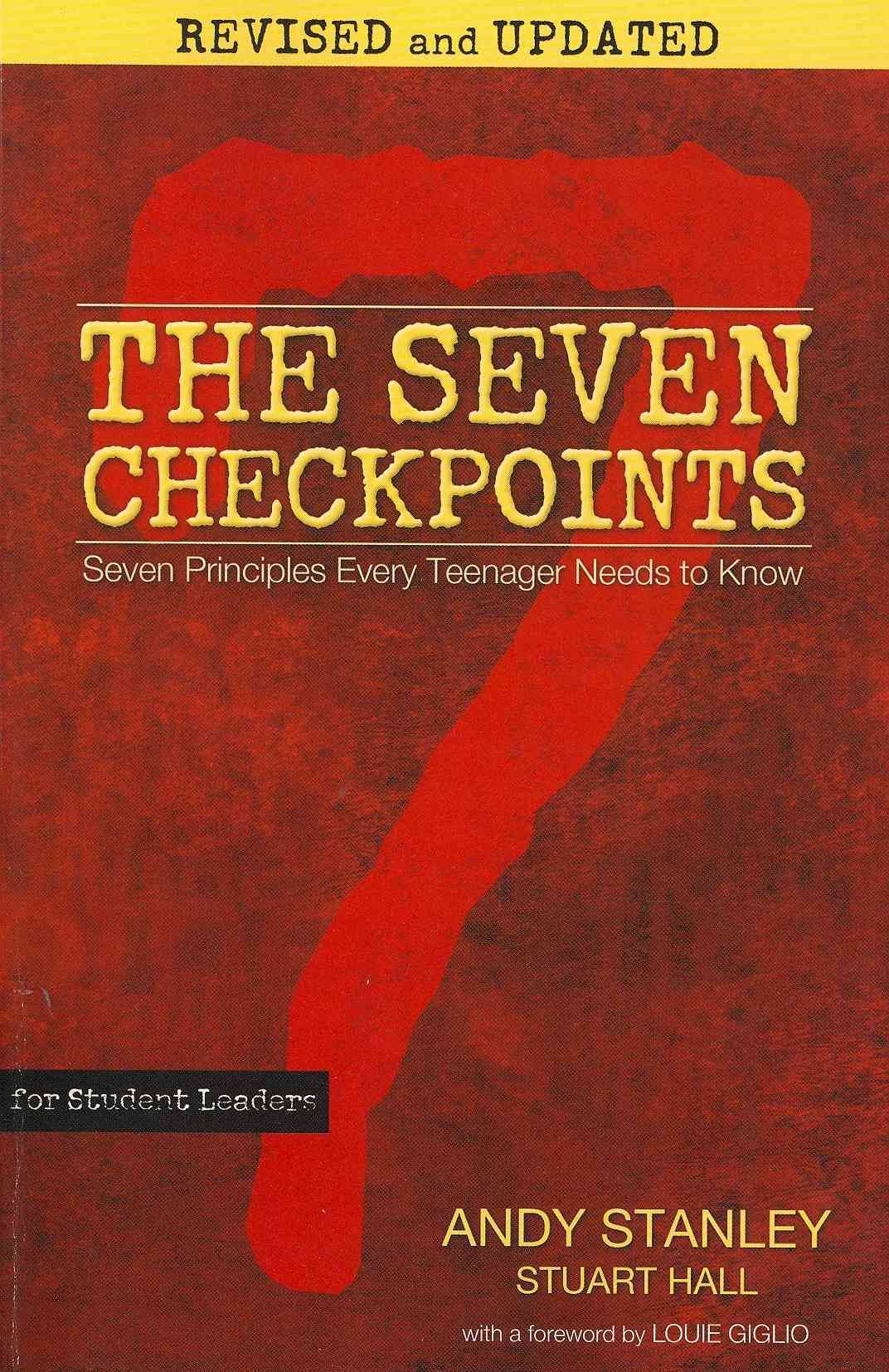 The Seven Checkpoints for Student Leaders Seven