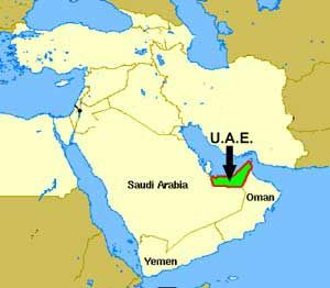Geography This Is Were The Uae