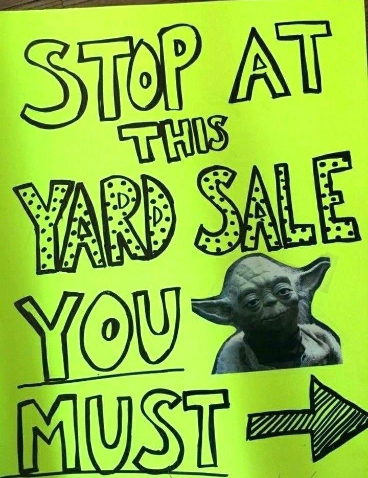Pin By Samantha T On Yard Sales Garage Sale Signs Garage Sale