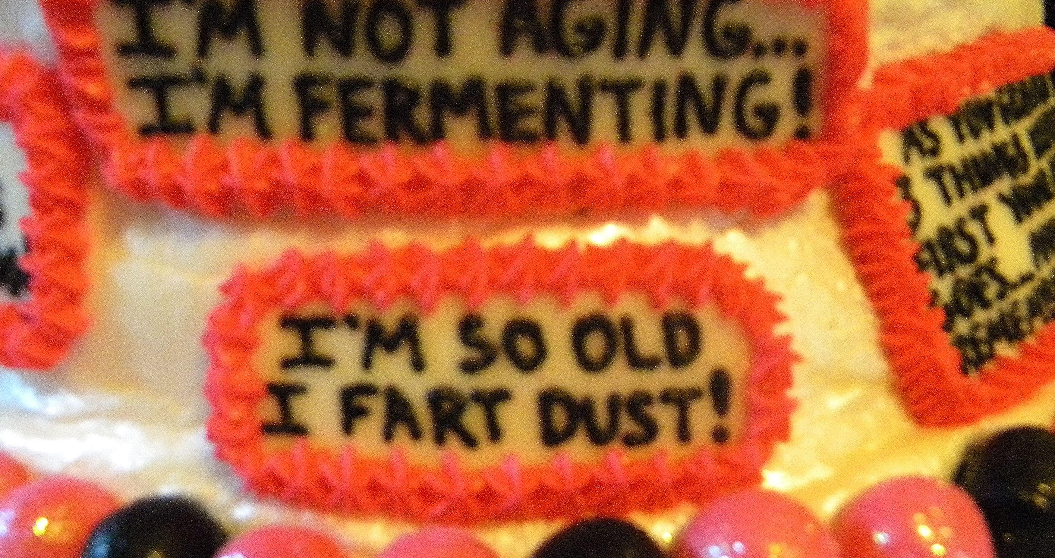 50th Birthday Cake Funny Sayings Pink Black White
