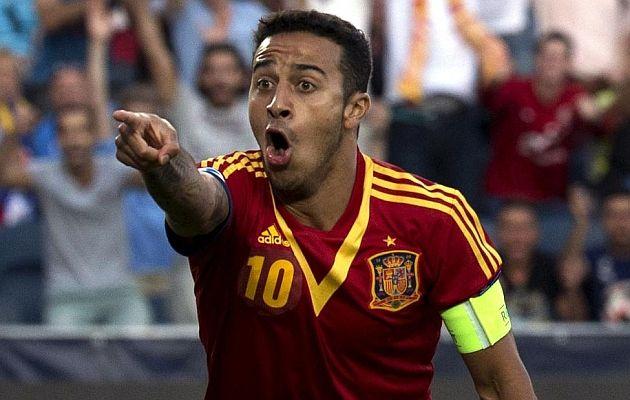 Europeo sub-21: El 'hat-trick' de Thiago en la final.