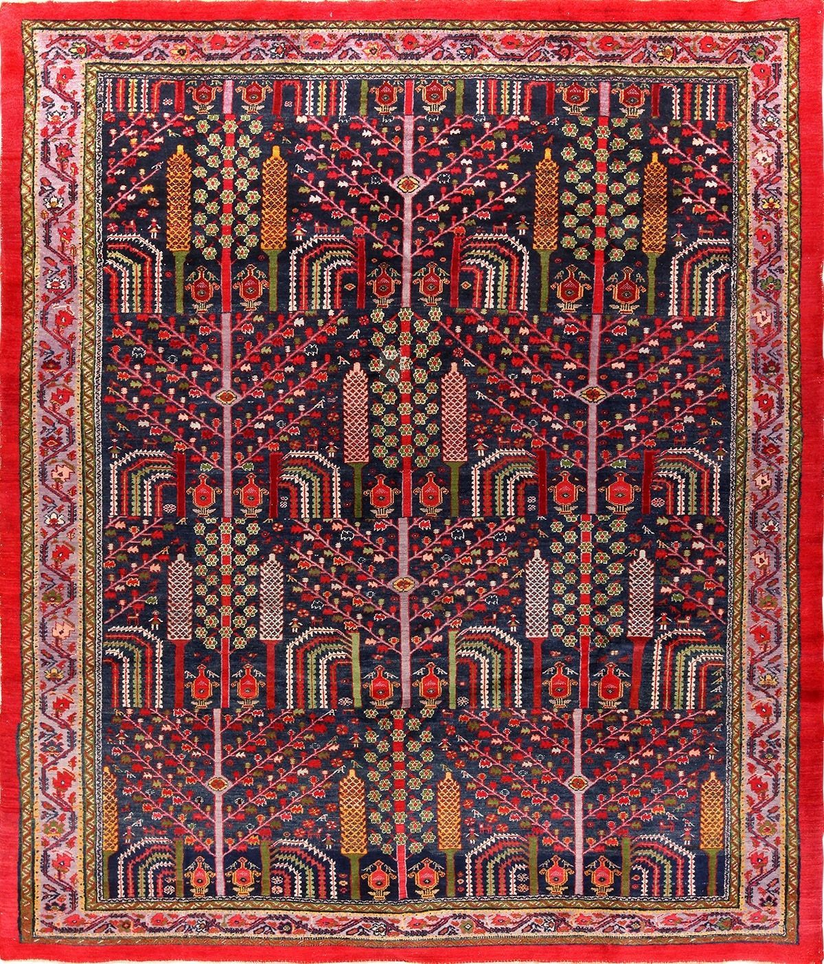 Weeping Willow Tree Antique Persian Malayer 49996 Nazmiyal Rugs Persian Malayer Rug Persian Rug Rugs