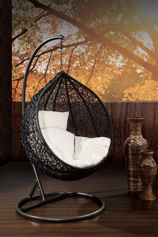 outdoor hanging egg pod chair hand woven melbourne pre sale