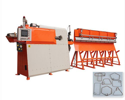 CNC wire bender is also called stirrup bender. And it is widely ...