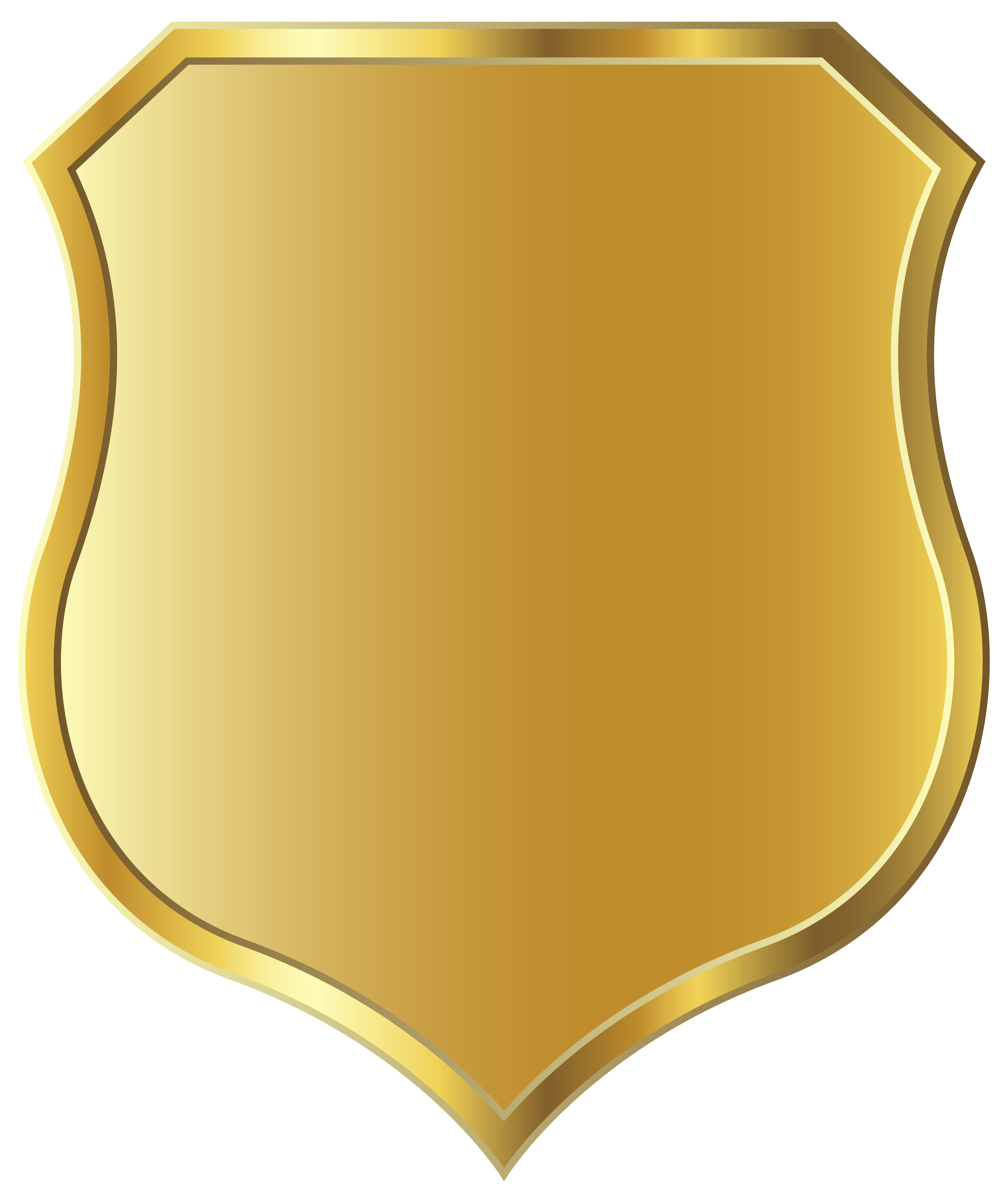 Golden Badge Template Png Clipart Image Gallery Yopriceville High Quality Images And Transparent Png Free Clipart Badge Template Clip Art Badge